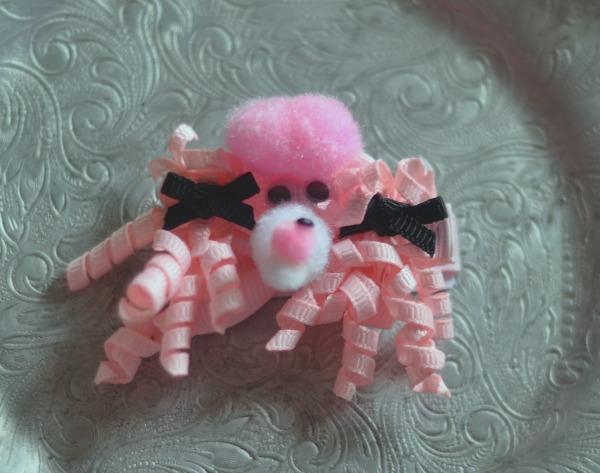111 Pink pom pom Poodle