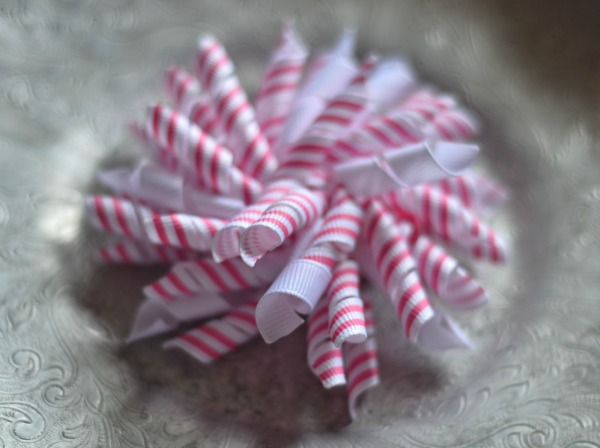 138 Pink and White striped Korker