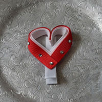 82 Heart With Bling