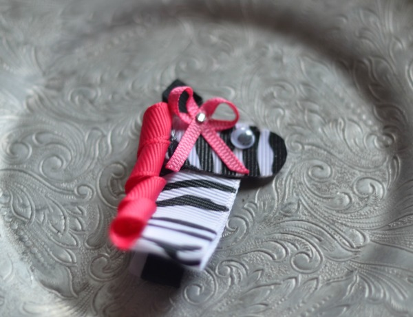 19 Zebra with Pink Mane