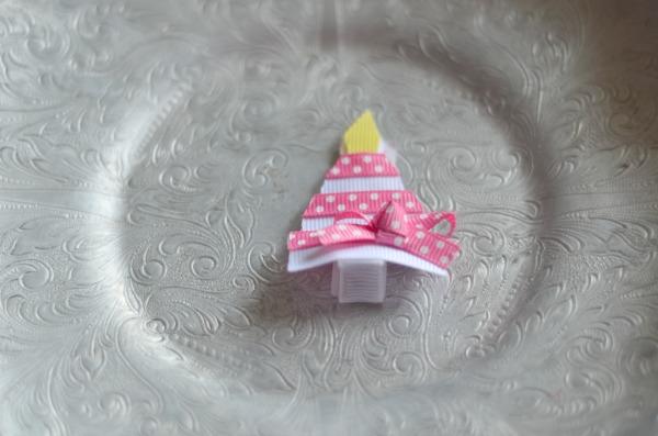 92 Pink and White Birthday Cake