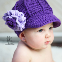 Frannie in Purple