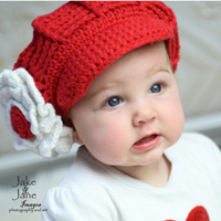 Frannie in Red