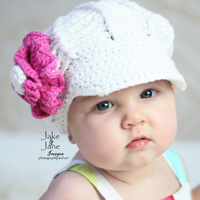 Frannie in White