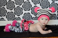 Zoe in Hot Pink Zebra